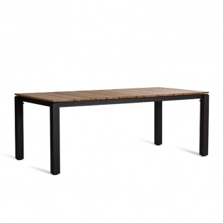 Oasiq MACHAR Tisch Teak-Platte 280x100 cm